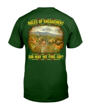 Rules Of Engagement Classic T-Shirt back