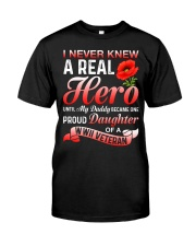 A Real Hero Classic T-Shirt front