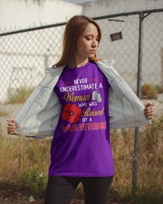 Never Underestimate  Classic T-Shirt apparel-classic-tshirt-lifestyle-07