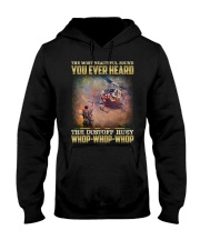 Whop Whop Whop Hooded Sweatshirt front