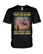 Whop Whop Whop V-Neck T-Shirt thumbnail