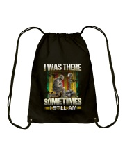Vietnam Vet Was There Drawstring Bag thumbnail