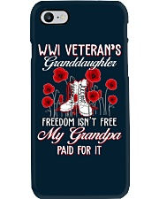 WWI Granddaughter Phone Case tile