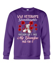 WWI Granddaughter Crewneck Sweatshirt thumbnail