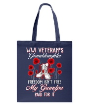 WWI Granddaughter Tote Bag tile