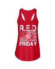 Red Friday Ladies Flowy Tank thumbnail