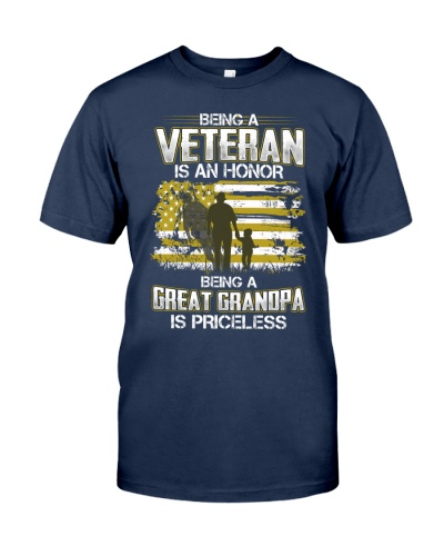 Being A Veteran Great Grandpa Is Priceless