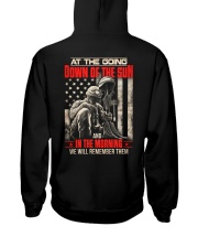 Remember Them Back Hooded Sweatshirt tile