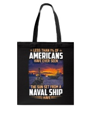 Naval Ship Tote Bag thumbnail