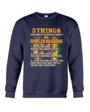 About My Husband Crewneck Sweatshirt thumbnail