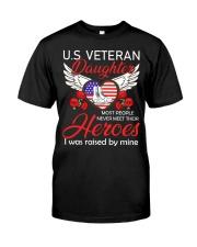 US Veteran Daughter-Heroes Classic T-Shirt thumbnail
