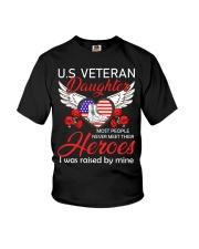 US Veteran Daughter-Heroes Youth T-Shirt thumbnail