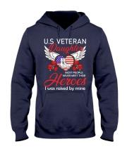 US Veteran Daughter-Heroes Hooded Sweatshirt thumbnail