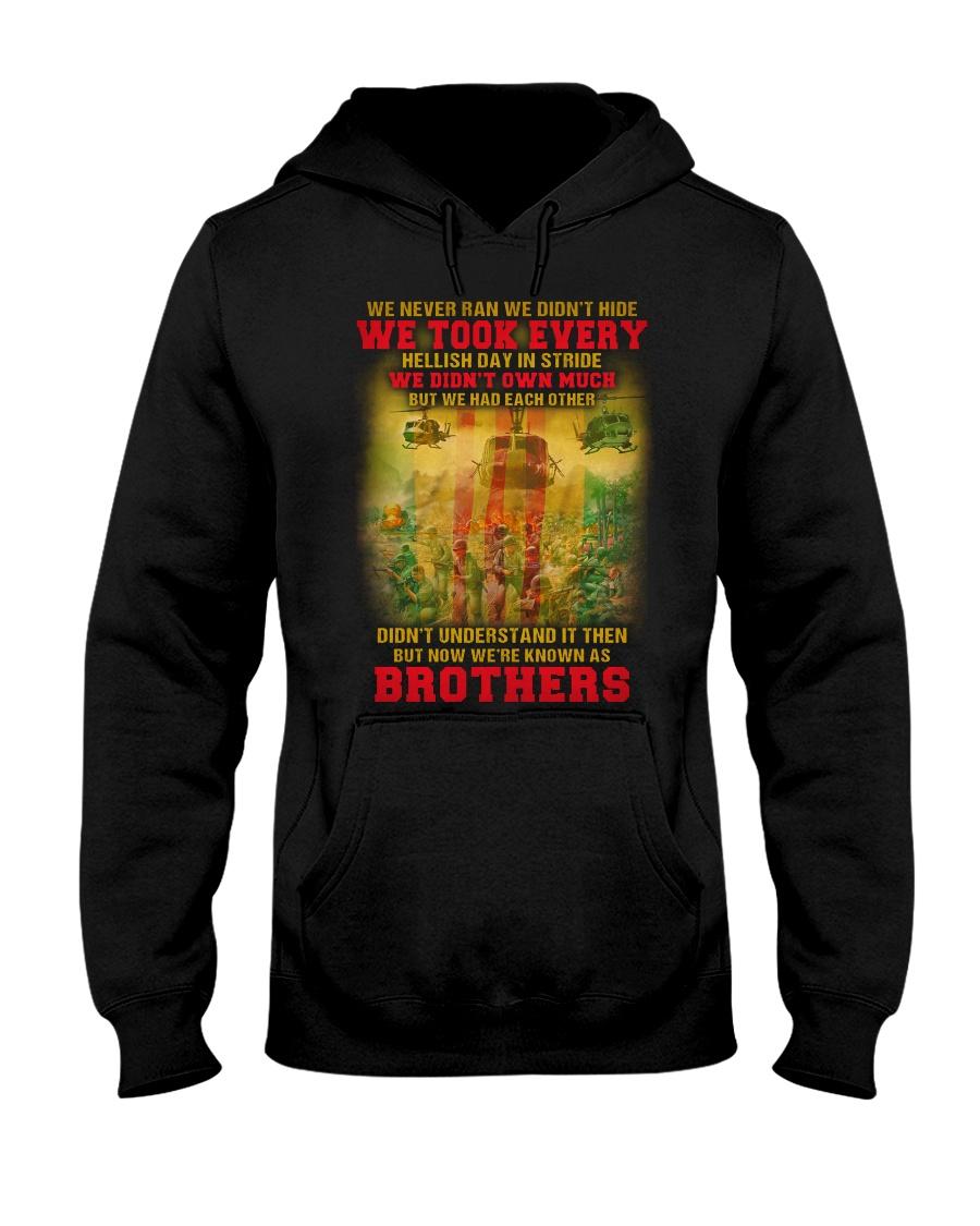 Never Ran Hooded Sweatshirt