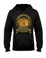 Vietnam Veteran Paid For Freedom Hooded Sweatshirt thumbnail