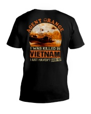 Agent Orange Water Vet V-Neck T-Shirt thumbnail