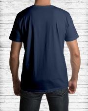Smokin Hot Vietnam Vet Classic T-Shirt lifestyle-mens-crewneck-back-1