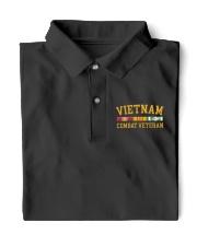 Vietnam Combat Veteran Classic Polo front