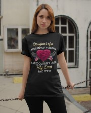 Korean War Veteran Daughter Classic T-Shirt apparel-classic-tshirt-lifestyle-19