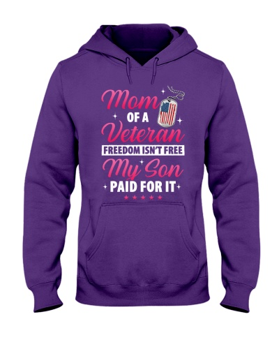 Veteran Mom-Paid For it