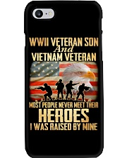 WWII Veteran Son And Vietnam Veteran Phone Case thumbnail