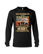 WWII Veteran Son And Vietnam Veteran Long Sleeve Tee thumbnail