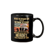 WWII Veteran Son And Vietnam Veteran Mug thumbnail