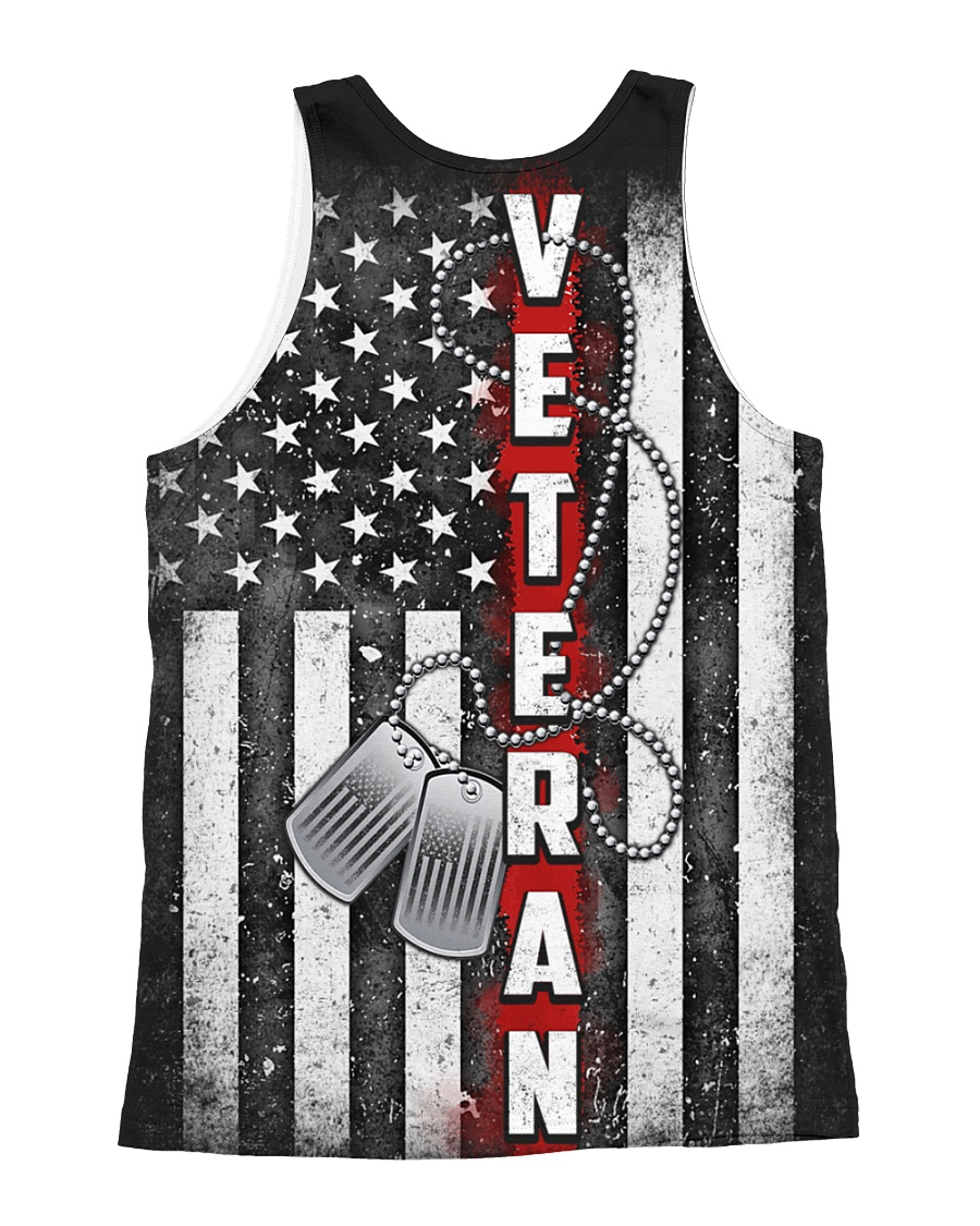 US Veteran All-over Unisex Tank