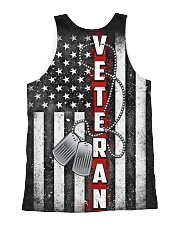 US Veteran All-over Unisex Tank back