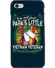 Vietnam Veteran's Papa Granddaughter Phone Case thumbnail