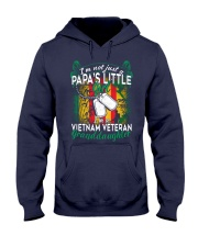Vietnam Veteran's Papa Granddaughter Hooded Sweatshirt thumbnail