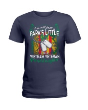 Vietnam Veteran's Papa Granddaughter Ladies T-Shirt thumbnail