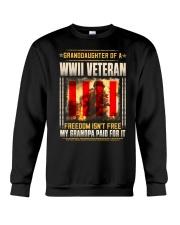 Granddaughter Of A WWII Veteran Crewneck Sweatshirt thumbnail