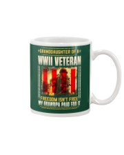 Granddaughter Of A WWII Veteran Mug thumbnail