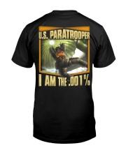 I Am The 001 Classic T-Shirt back