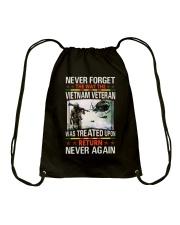 Never Forget Drawstring Bag thumbnail