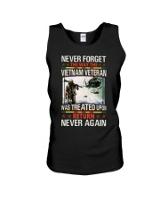 Never Forget Unisex Tank thumbnail