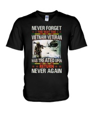 Never Forget V-Neck T-Shirt thumbnail