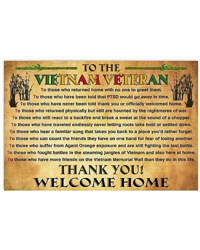 To The Vietnam Veteran