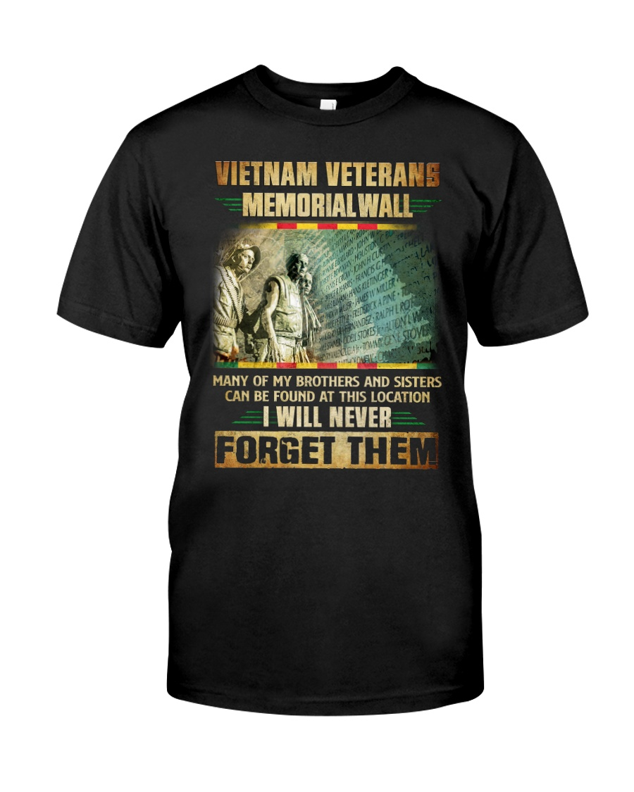 Memorial Wall Classic T-Shirt