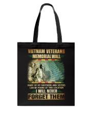 Memorial Wall Tote Bag thumbnail