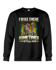 Vietnam Vet Was There Crewneck Sweatshirt thumbnail