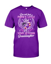 WWII Granddaughter Classic T-Shirt front