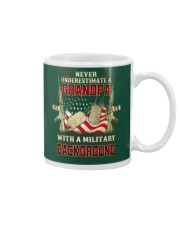 Grandpa With Military Background Mug thumbnail