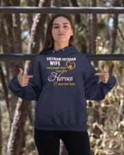 Vietnam Veteran Wife Hooded Sweatshirt apparel-hooded-sweatshirt-lifestyle-05