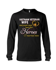 Vietnam Veteran Wife Long Sleeve Tee thumbnail
