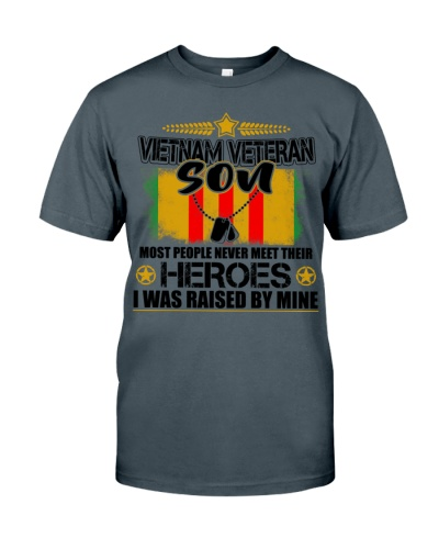 Vietnam Veteran Son - I was raised by Mine