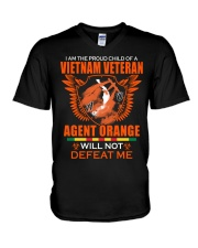 Vietnam Veterans Children V-Neck T-Shirt thumbnail