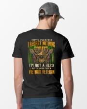I Regret Nothing Classic T-Shirt lifestyle-mens-crewneck-back-6