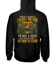 I Regret Nothing Hooded Sweatshirt thumbnail